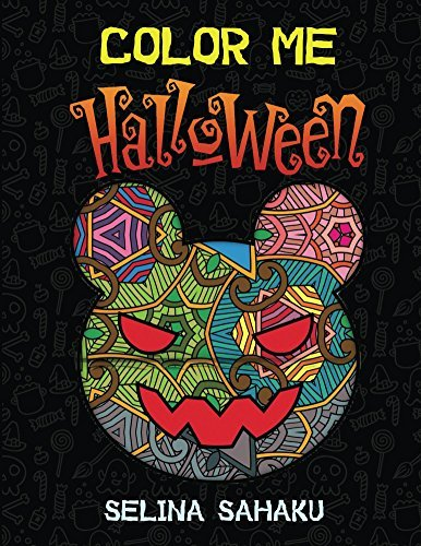 Color Me Halloween: Coloring Book (Halloween Coloring Book 1)