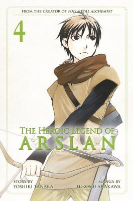 The Heroic Legend of Arslan, Vol. 4