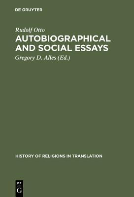 Autobiographical & Social Essays (History of Religions in Translation 2) (ePUB)