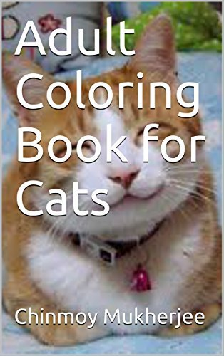 Adult Coloring Book for Cats
