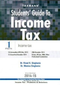 Taxmann Students' Guide to Income Tax (Part 1 & Part 2)