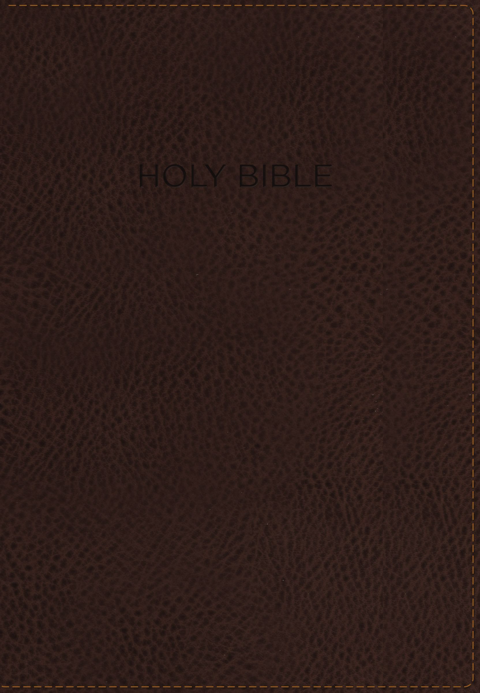 NIV, Foundation Study Bible, Leathersoft, Brown, Indexed, Red Letter Edition