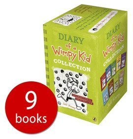 Diary of a Wimpy kid 9 book collection set
