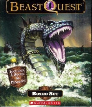 Beastquest BOXED SET - Includes Ferno the Fire Dragon, Sepron the Sea Serpent, Cypher the Mountain Giant, and Tagus the Night Horse
