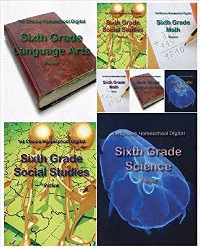 1st Choice Homeschool Sixth Grade EText - Teacher/Parent Edition
