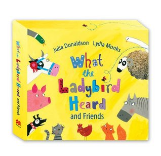 What the Ladybird Heard and Friends CD Box set: What the Ladybird Heard, Sharing a Shell, The Princess and the Wizard and The Rhyming Rabbit