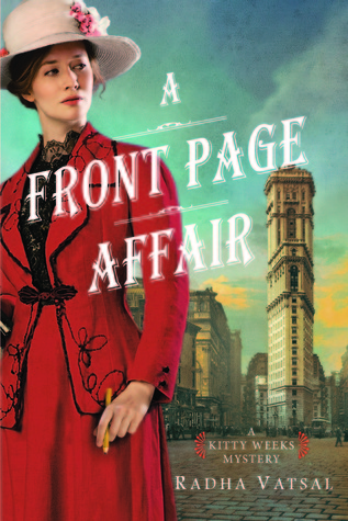 A Front Page Affair (Kitty Weeks Mystery, #1)