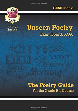 New GCSE English Literature AQA Unseen Poetry Guide - for the Grade 9-1 Course
