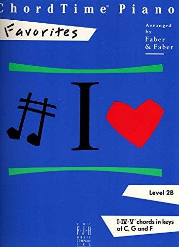 Chordtime Piano Favorites Level 2B (Chordtime Piano Series)