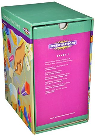 Investigations 2004 Curriculum Units Package Grade 1