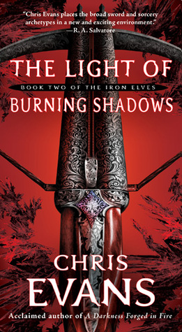 The Light of Burning Shadows by Chris  Evans