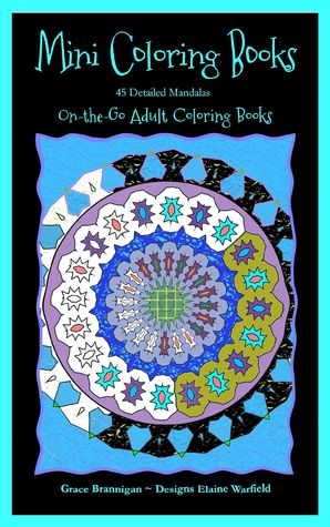 Mini Coloring Books 45 Detailed Mandalas On The Go Adult 1