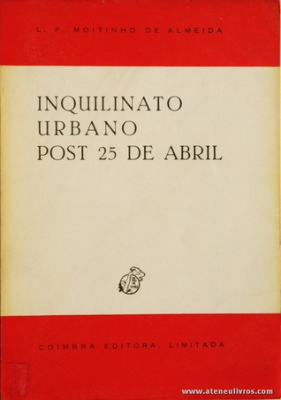 Inquilinato Urbano Post 25 de abril