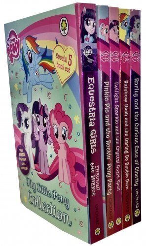 My Little Pony Equestria Girls adventure 5 Books Collection Set Pack