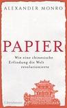 Papier by Alexander Monro
