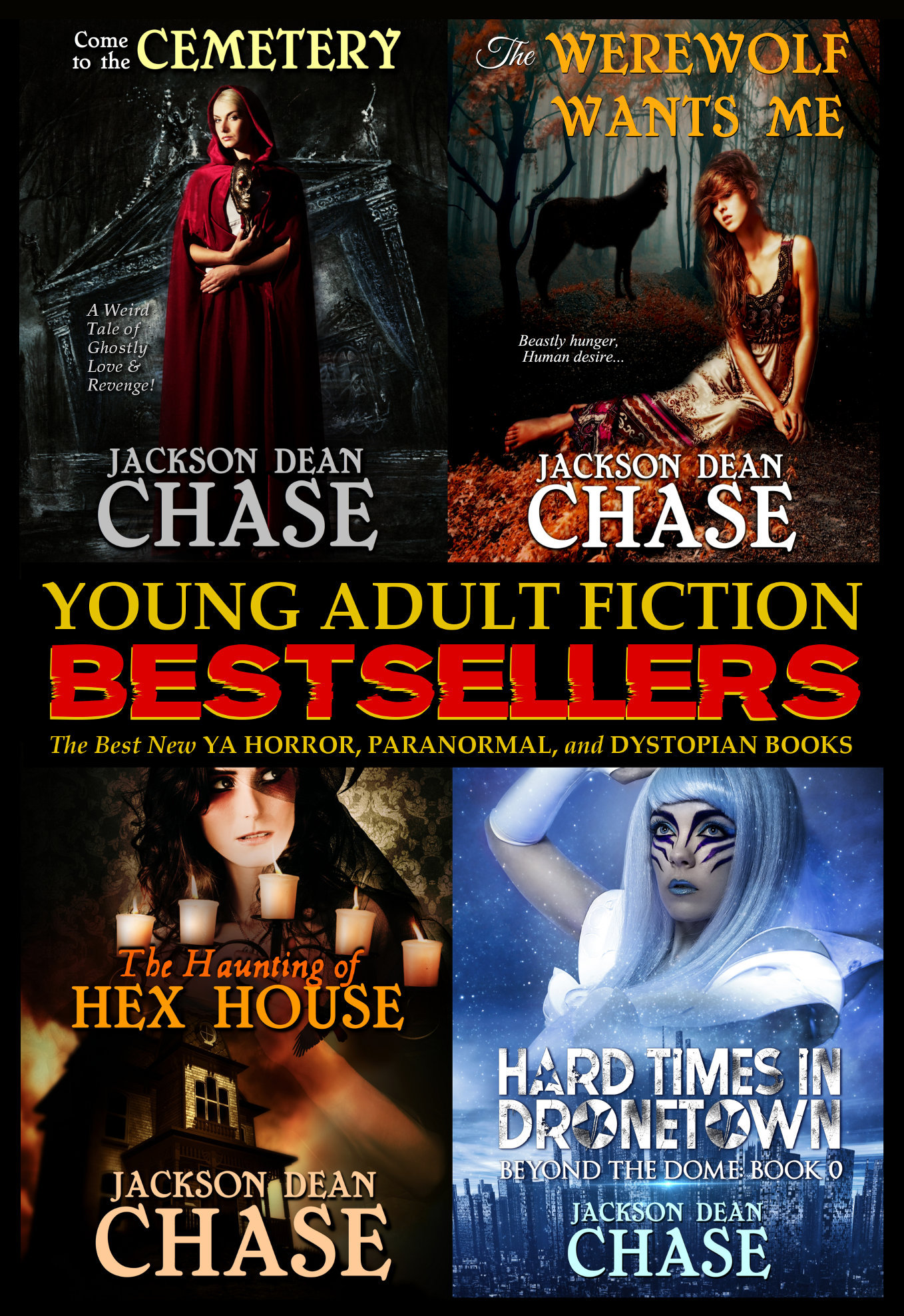 Young Adult Fiction Best Sellers: The Best New YA Horror, Paranormal, and Dystopian Books