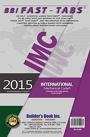International Mechanical Code 2015 IMC--BBI Fast-Tabs