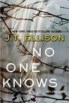 No One Knows by J.T. Ellison