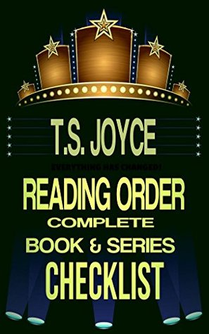 T.S. Joyce Reading Order: Complete Book & Series Checklist