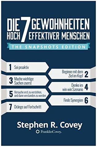 Die 7 Wege zur Effektivität:: The Snapshots Edition