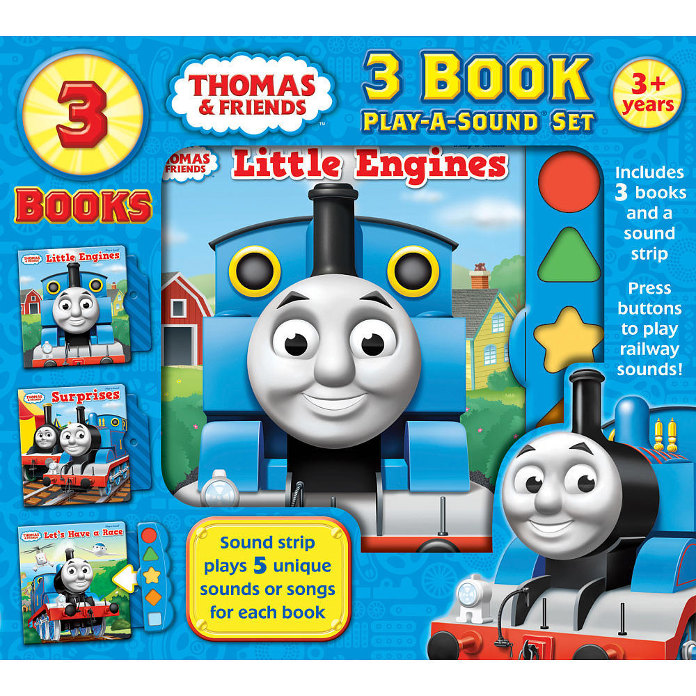 Thomas the Tank Engine Play-A-Sound 3-Book Box Set