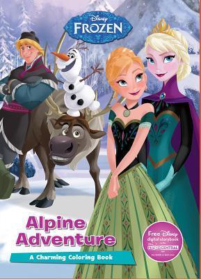 Disney Frozen Alpine Adventure: A Charming Coloring Book