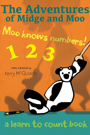 Moo knows numbers by Kerry McQuaide