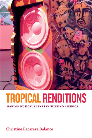 Book cover showing Filipino faces in art.