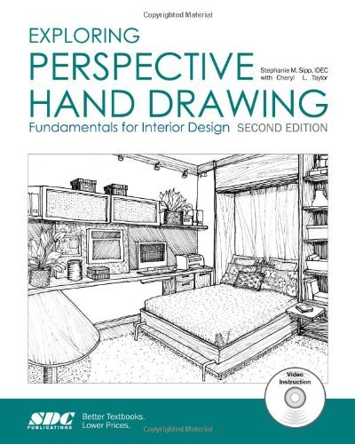 Exploring Perspective Hand Drawing: Fundamentals for Interior Design