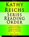 Kathy Reichs Series Reading Order by NOT A BOOK