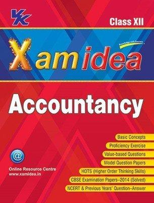 Xam Idea Accountancy for Class - 12