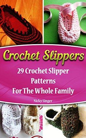 Crochet slippers 29 crochet slipper patterns for the whole family 27804943 dt1010fo