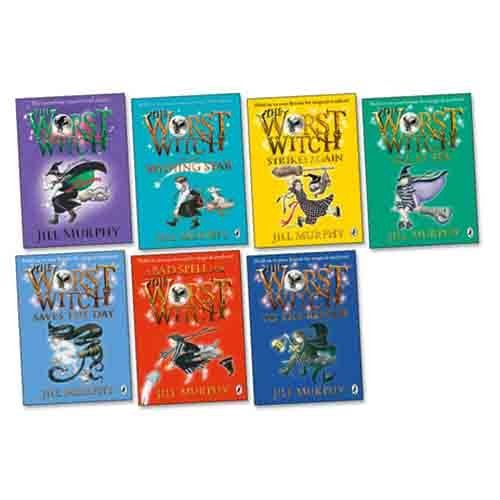 Jill Murphy Worst Witch 7 Books Collection Pack