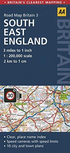 Road Map South East England