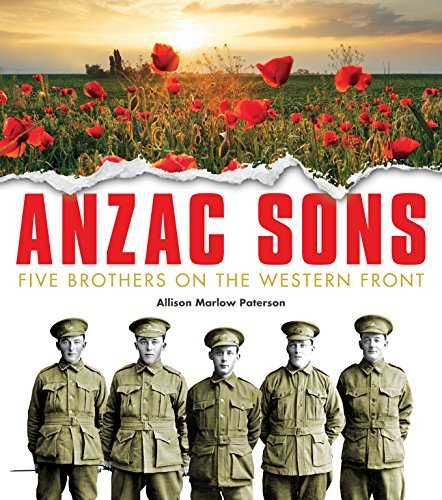Anzac Sons Kids book: Five Brothers on the Western Front