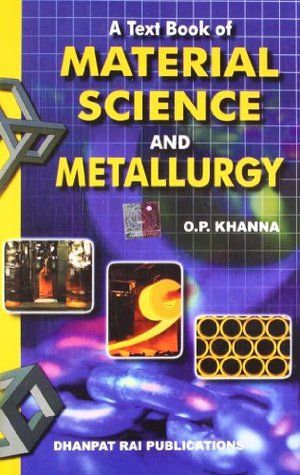 A Textbook Of Material Science And Metallurgy