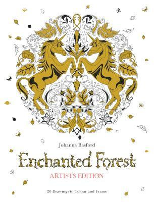 Enchanted Forest Artists Edition: 20 Drawings to Color and Frame EPUB