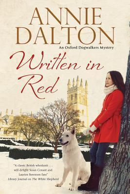Written in Red (Oxford Dogwalkers Mystery, #2)