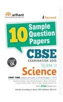 CBSE 10 Sample Question Papers - Science for Class 9th Term-2