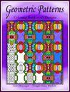 Geometric Patterns Coloring Book 45 Designs