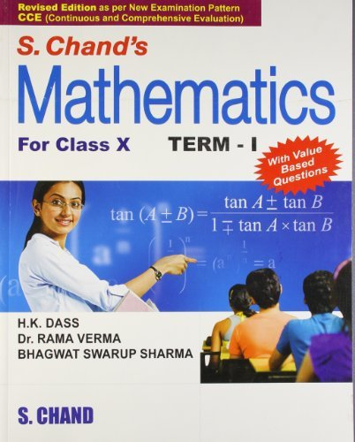 S. Chand's Mathematics For Class - 10, Term - I