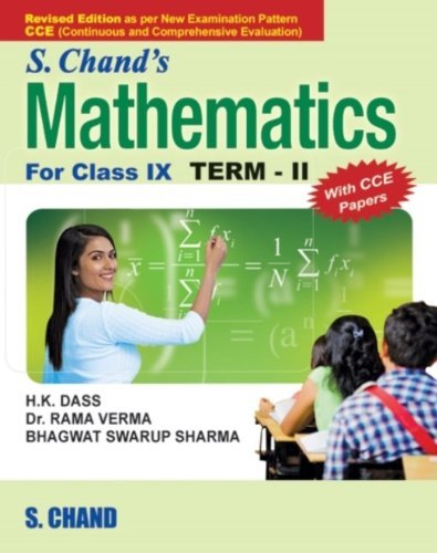 S. Chand's Mathematics For Class 9 (Term 2)