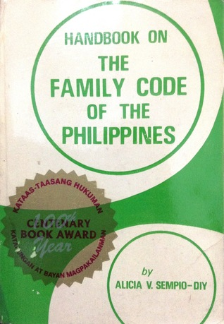 Handbook on the Family Code of the Philippines