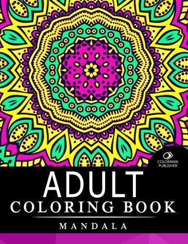 Adult Coloring Book Mandala: Stress Relieving Patterns : Coloring Books For Adults, coloring books for adults relaxation, Mandala Coloring Book (Volume 5)