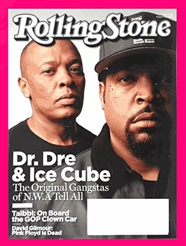 Rolling Stone Magazine (August 27, 2015) (Dr Dre & Ice Cube Straight Outta Compton)