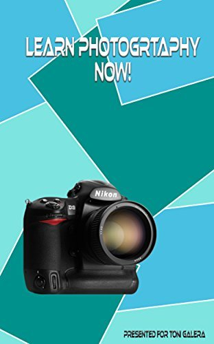Learn photography now: If you want a head start in photography, then this is your book.