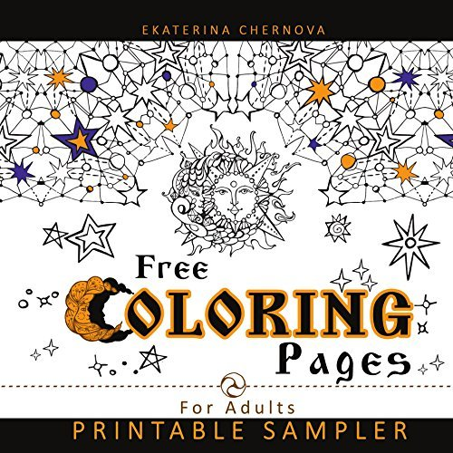 Sample Coloring Pages For Adults: Printable Coloring Pages (Detailed Design And Mandala Coloring Books For Adults)