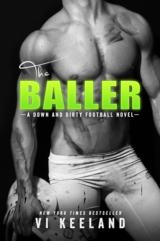 The Baller: A Down and Dirty Football Novel Book Cover