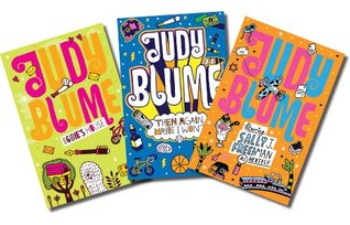 Judy Blume (Three book set, includes Iggie's House, Starring Sally J. Freedman as Herself and Then Again, Maybe I Won't)