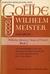 Wilhelm Meister, Volume Six...
